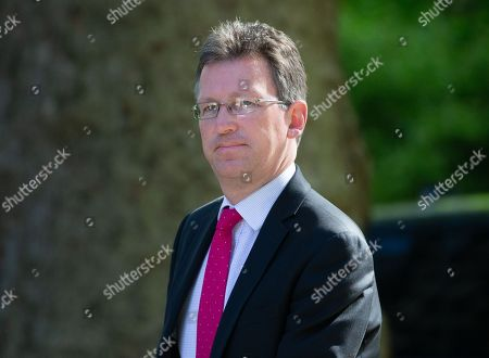 Jeremy Wright, Secretary of State for Digital, Culture, Media and Sport, arrives for the Cabinet meeting.