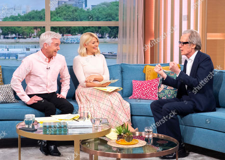 Stock Picture of Phillip Schofield, Holly Willoughby, Bill Nighy