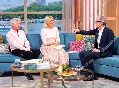 Stock Photo of Phillip Schofield, Holly Willoughby, Bill Nighy