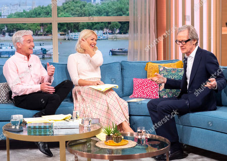Phillip Schofield, Holly Willoughby, Bill Nighy