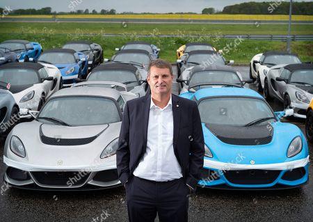 Phil Popham CEO of Lotus