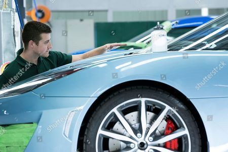 Editorial image of Phil Popham CEO of Lotus at their production line, Norwich, UK - 08 May 2019