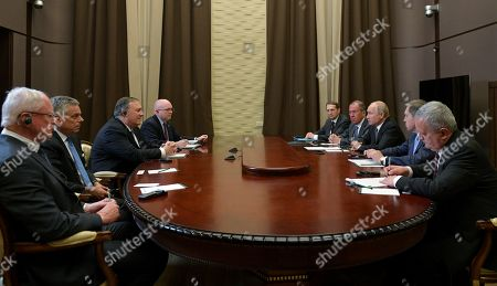 Editorial picture of US Secretary of State Mike Pompeo visits Russia, Sochi, Russian Federation - 14 May 2019