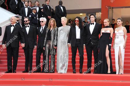 Bill Murray, Jim Jarmusch, Sara Driver, Tilda Swinton, Luka Sabbat, Adam Driver, Selena Gomez and Chloe Sevigny