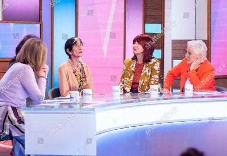 Kaye Adams, Coleen Nolan, June Brown, Janet Street-Porter and Denise Welch