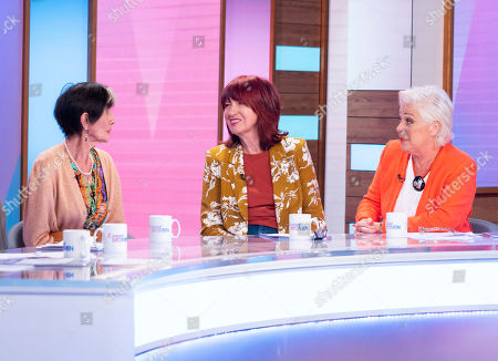 Stock Photo of June Brown, Janet Street-Porter and Denise Welch