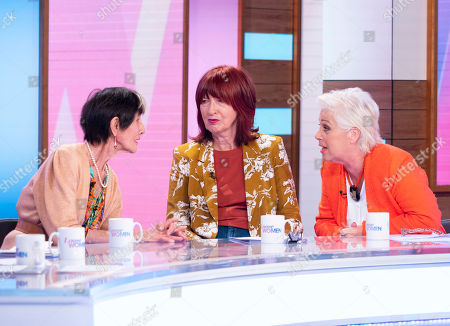 June Brown, Janet Street-Porter and Denise Welch