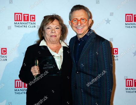 Nancy Coyne and Thomas Schumacher