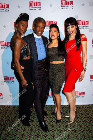 Stock Image of Jewelle Blackman, Andre de Shields, Kay Trinidad and Yvette Gonzalez-Nacer