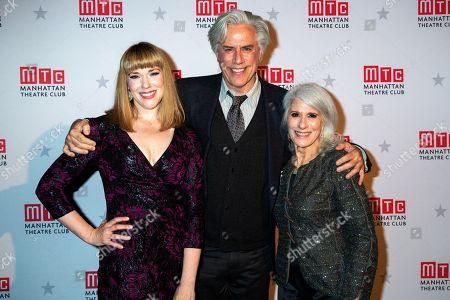 Emily Skinner, Jeff McCarthy and Jamie DeRoy