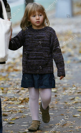 Editorial image of Michelle Williams and her daughter Matilda out and about in Brooklyn, New York, America - 30 Oct 2009