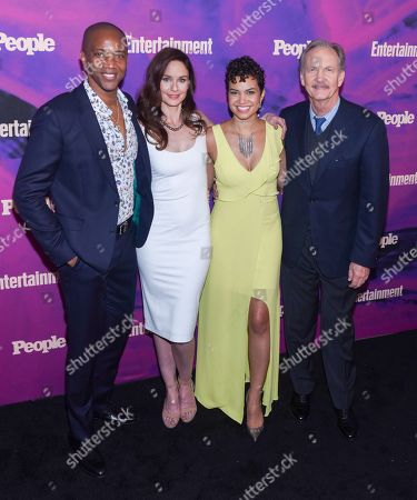 J. August, Sarah Wayne Callies, Michele Weaber and Michael O'Neil