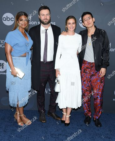 Kimrie Lewis, Taran Killam, Leighton Meester and Jake Choi