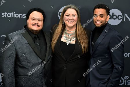 Stock Image of Adrian Martinez, Camryn Manheim and Micheal Ealy