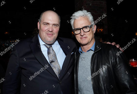 Glenn Fleshler and John Slattery