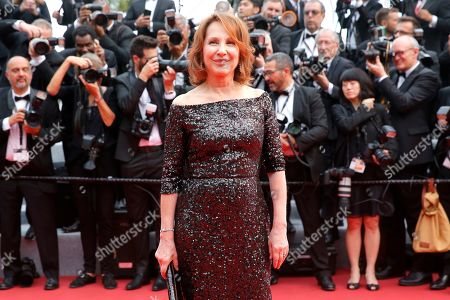 Nathalie Baye arrives for the screening of 'The Dead Don't Die' and the Opening Ceremony of the 72nd annual Cannes Film Festival in Cannes, France, 14 May 2019. Presented in competition, the movie opens the festival which runs from 14 to 25 May.