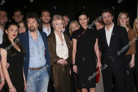 Ramona Mallory, Trevor Nunn, Angela Lansbury, Catherine Zeta-Jones, Alexander Hanson, Erin Davie