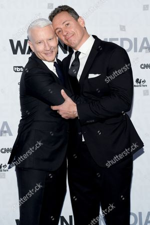 Anderson Cooper and Chris Cuomo