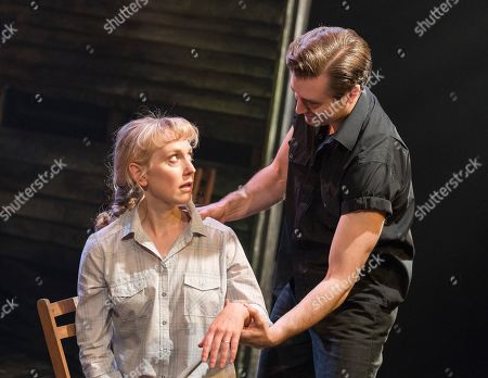 Hattie Morahan as Lady Torrance, Seth Numrich as Valentine Xavier