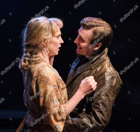 Hattie Morahan as Lady Torrance, Seth Numrich as Valentine Xavier