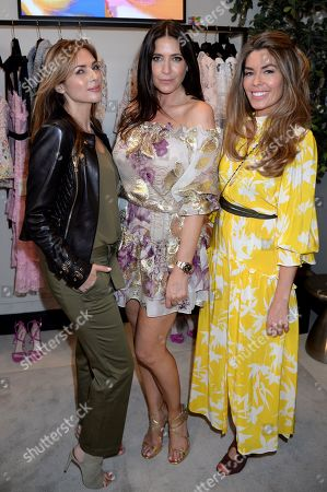 Natalie Goldstein, Lisa Snowdon and Sophie Stanbury
