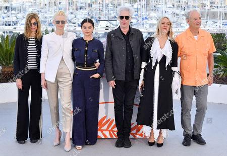 Sara Driver, Tilda Swinton, Selena Gomez, Jim Jarmusch, Chloe Sevigny and Bill Murray