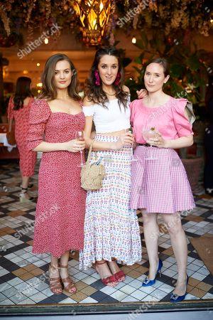 Niomi Smart, Rosanna Falconer and Alexandra Carello