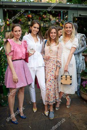 Alexandra Carello, Natalie Salmon, Niomi Smart and Jemima Cadbury