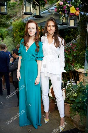 Stock Picture of Olivia Grant and Natalie Salmon