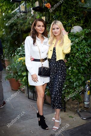 Emily Blackwell and Lottie Moss