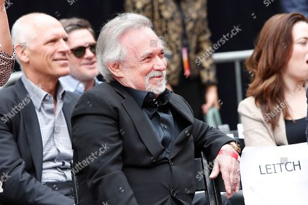 Manager Erwin Stoff during a hand print ceremony where Keanu Reeves is honored at the TCL Chinese Theatre IMAX in Hollywood, Los Angeles, California, USA, 14 May 2019. Reeves new movie John Wick 3 opens in the US 17 May 2019.