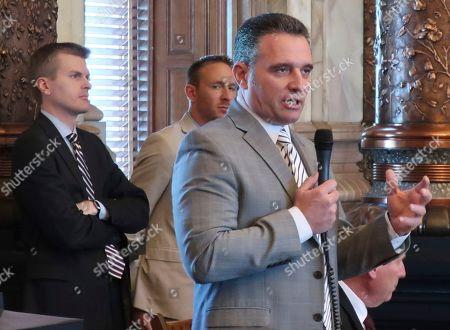 Editorial image of Kansas Appeals Court Nomination Flap, Topeka, USA - 14 May 2019
