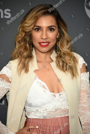 Christina Vidal attends the Walt Disney Television 2019 upfront at Tavern on The Green, in New York