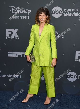 Stephanie Szostak attends the Walt Disney Television 2019 upfront at Tavern on The Green, in New York