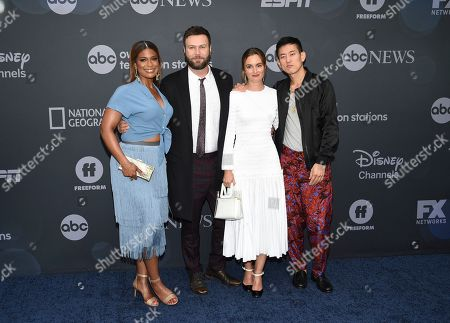 Kimrie Lewis, Taran Killam, Leighton Meester, Jake Choi. Kimrie Lewis, left, and Taran Killam, Leighton Meester and Jake Choi attend the Walt Disney Television 2019 upfront at Tavern on The Green, in New York
