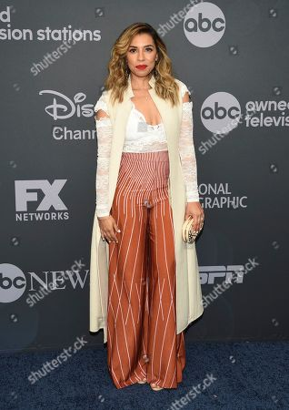 Christina Vidal attend the Walt Disney Television 2019 upfront at Tavern on The Green, in New York