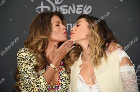 Lisa Vidal, Christina Vidal. Lisa Vidal, left, and Christina Vidal attend the Walt Disney Television 2019 upfront at Tavern on The Green, in New York