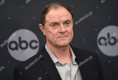 Boris McGiver attends the Walt Disney Television 2019 upfront at Tavern on The Green, in New York