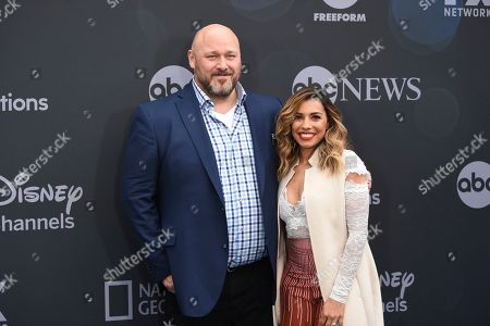 Will Sasso, Christina Vidal. Will Sasso, left, and Christina Vidal attend the Walt Disney Television 2019 upfront at Tavern on The Green, in New York
