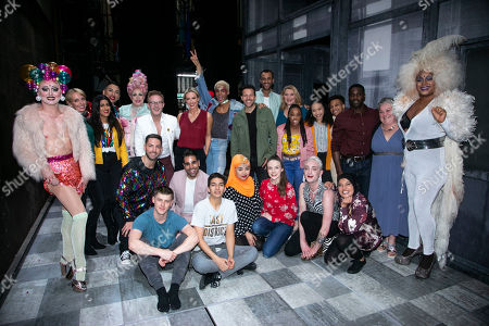Editorial picture of 'Everybody's Talking About Jamie' musical, Cast Change, London, UK - 14 May 2019