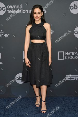 Michelle Veintimilla attends the Walt Disney Television 2019 upfront at Tavern on The Green, in New York