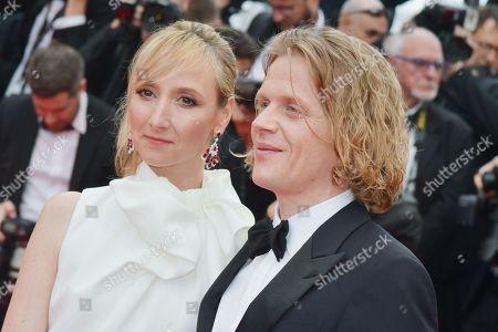 Audrey Lamy and Alex Lutz