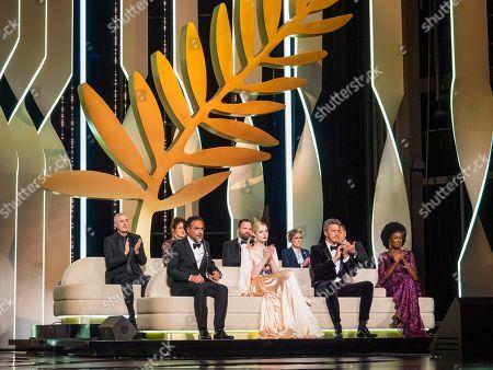 Alejandro Gonzalez Inarritu, Jury Members Elle Fanning, Pawel Pawlikowski, Maimouna N'Diaye, Robin Campillo, Alice Rohrwacher, Yorgos Lanthimos, Kelly Reichardt and Enki Bilal
