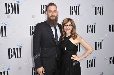 Lisa Loeb, Roey Hershkovitz. Lisa Loeb, right, and Roey Hershkovitz arrive at the 67th annual BMI Pop Awards, at the Beverly Wilshire Hotel in Beverly Hills, Calif