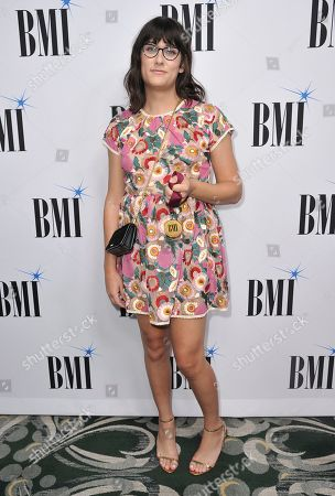 Teddy Geiger arrives at the 67th annual BMI Pop Awards, at the Beverly Wilshire Hotel in Beverly Hills, Calif