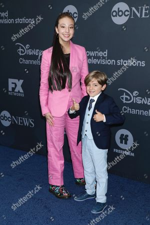 Aubrey Anderson and Jeremy Maguire