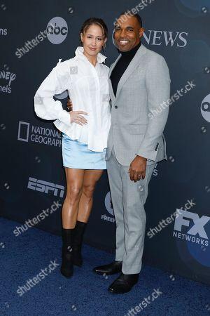 Jaina Lee Ortiz and Jason Winston George