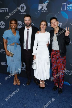 Kimrie Lewis-Davis, Taran Killam, Leighton Meester and Jake Choi