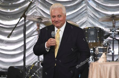 Martin Bandier accepts the icon award at the 67th annual BMI Pop Awards, at the Beverly Wilshire Hotel in Beverly Hills, Calif