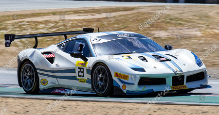 Editorial photo of Ferrari Challenge Race 2 P/P- AM :, Monterey, USA - 12 May 2019
